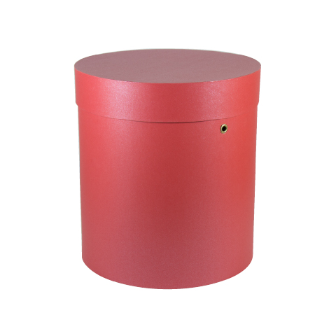 Rose Flowers Packaging Round Big Cardboard Tube Box
