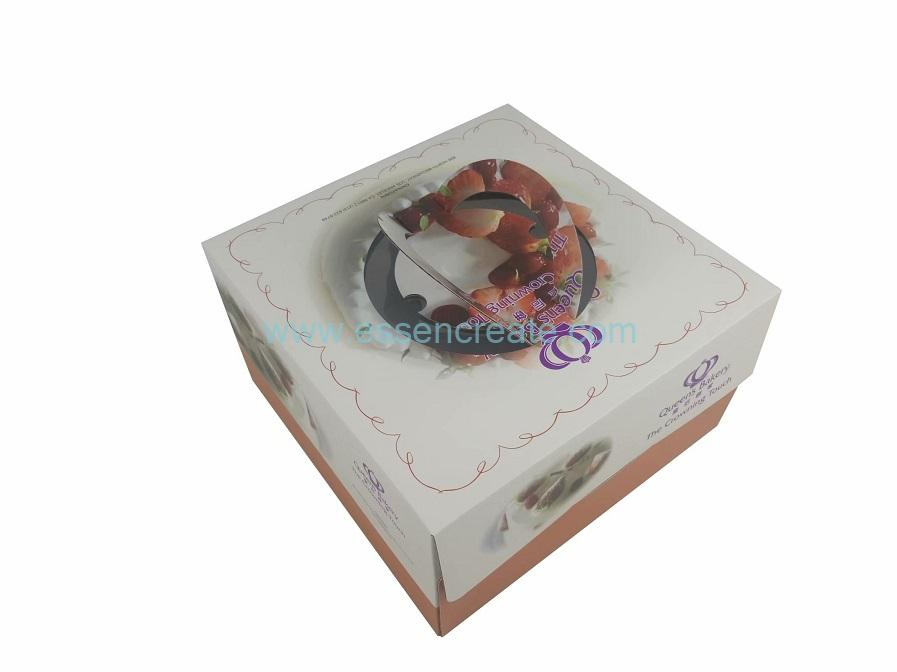 Birthday Cake Packaging Cardboard Box