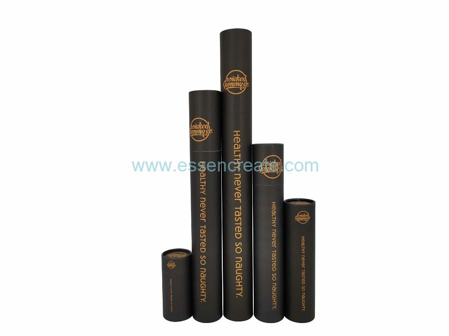 Rolled Edge Poster Paper Tube Shipping Round Box