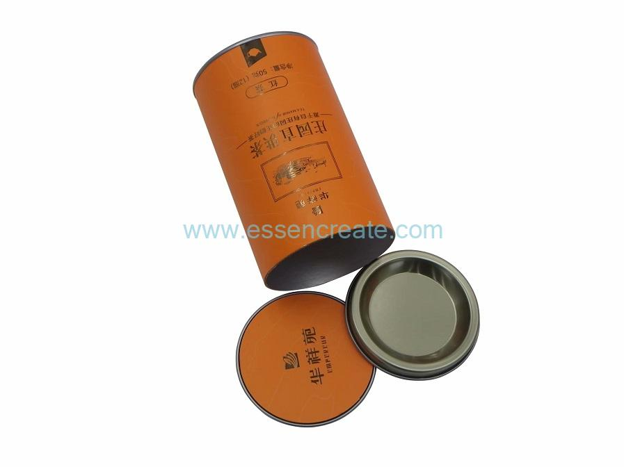 Bump Metal Concave-Convex Tin Composite Paper Tea Cans
