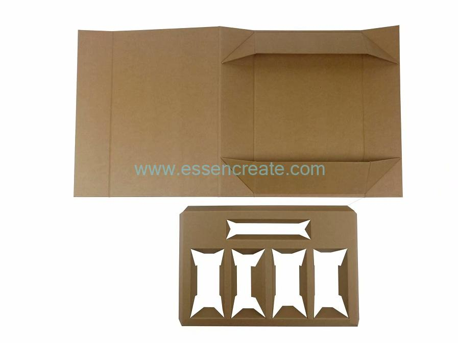 Eco Friendly Coffee Tin Packaging Folding Kraft Box