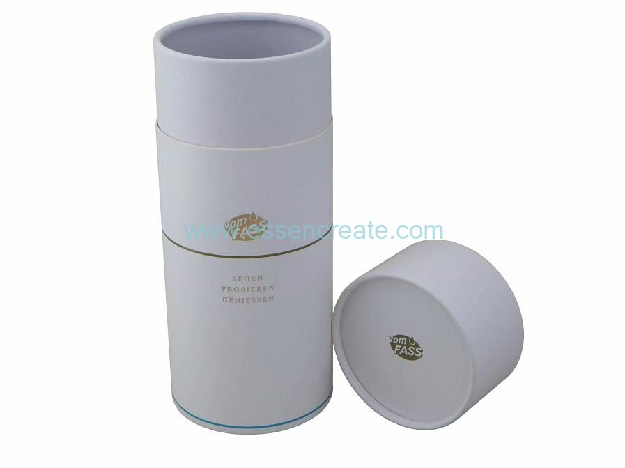 White Card Tube Packaging