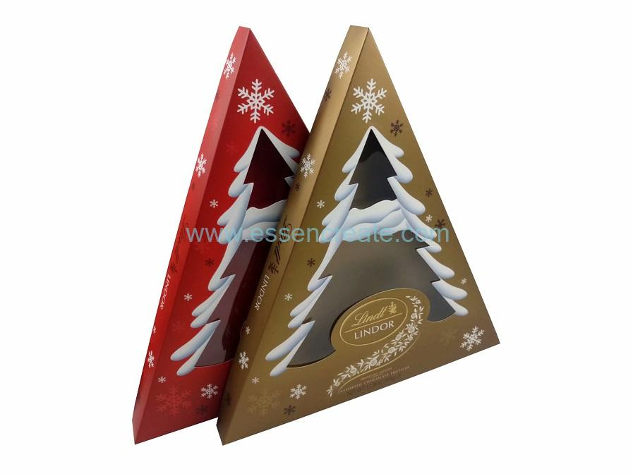 Chocolate Packaging Triangle Box