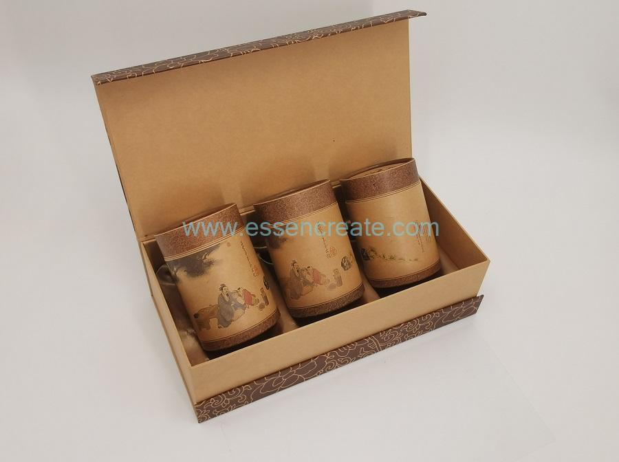Brown Kraft Tea Box