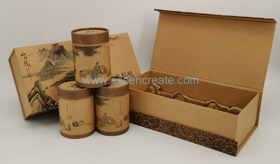 Tea Packing Box with Cans