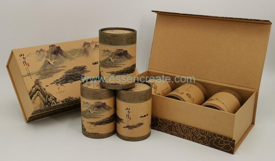 Bookshape Tea Gift Box