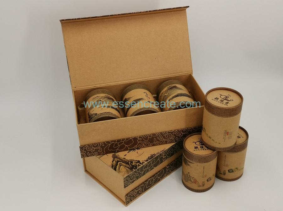 Cardboard Canister Packaging