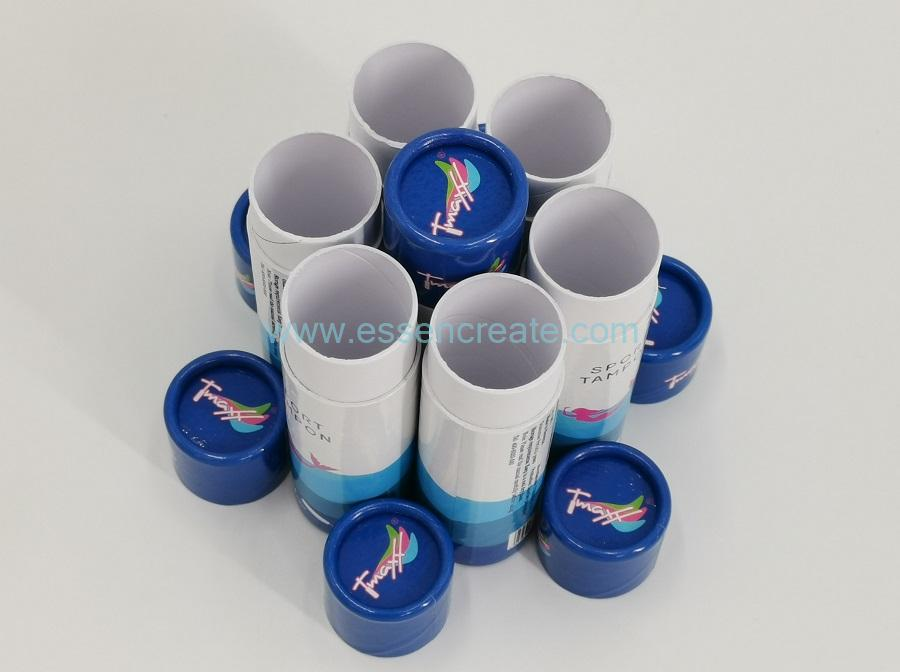 Ivory Board Rolled Edge Paper Tube