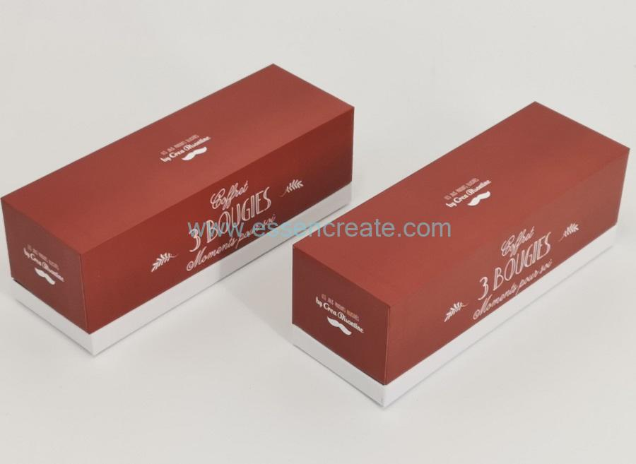 Bougie Packaging Rigid Cardboard Box