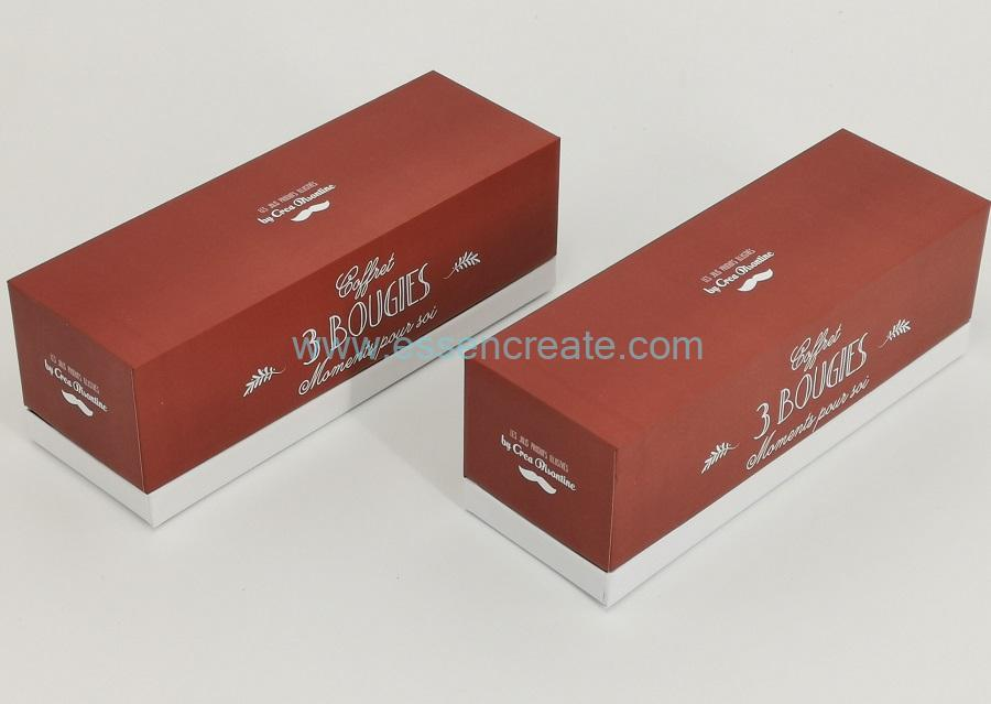 Bougie Candle Packaging Box