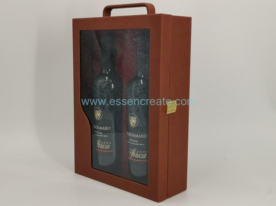 PU Leather Wine Box