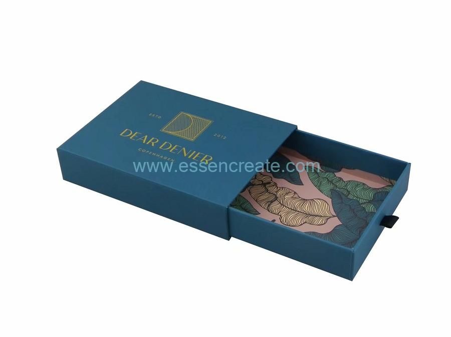 Tie Packaging Sliding Drawer Gift Box