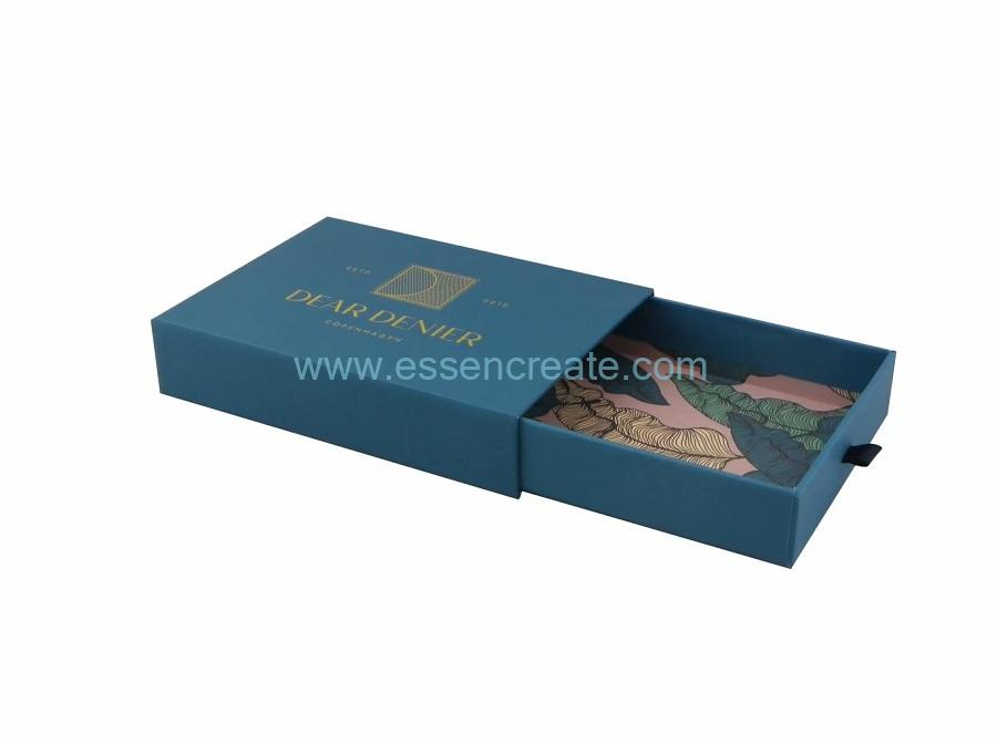 Wallet Packaging Sliding Drawer Gift Box