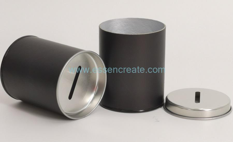 Money Bank Packaging Cylinder Canister