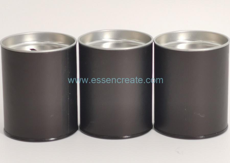 Cylinder Canister with Coin Slot