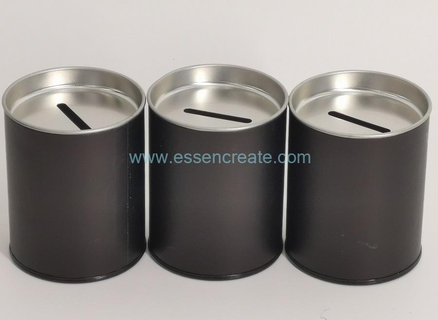 Round Money Packaging Canister
