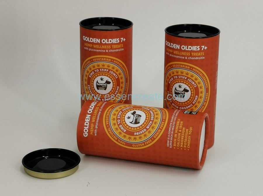 Pet Treats Medicine Packaging Paper Cans