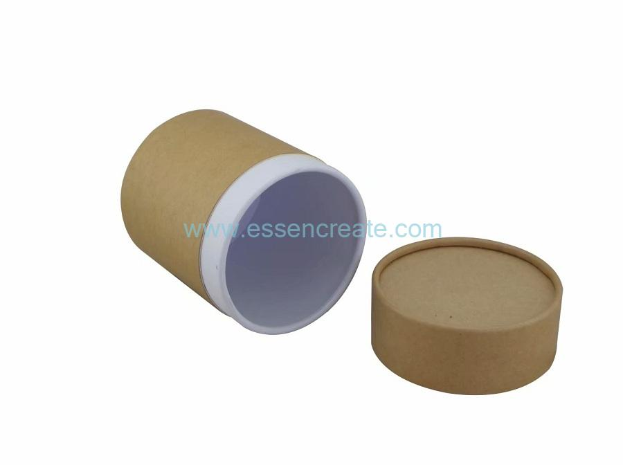 Brown Kraft Paper Round Box
