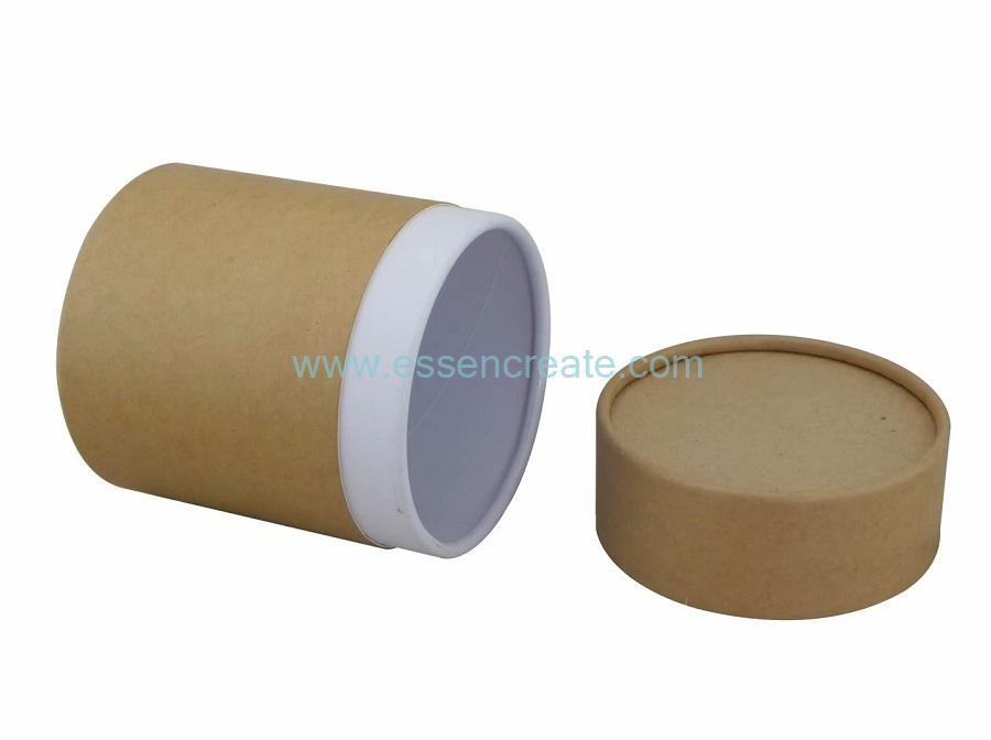 Round Kraft Tube Packaging Box