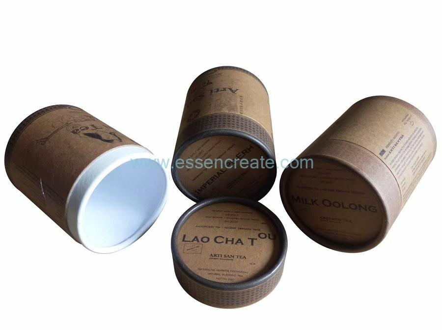 Cylinder Tea Packagingg Paper Tube Box
