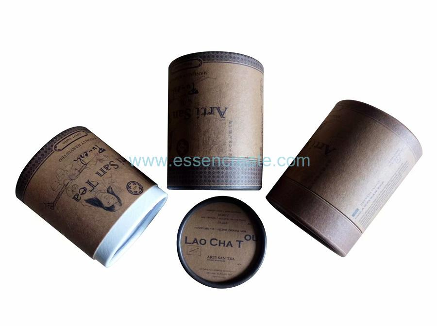 Cylinder Tea Packaging Box