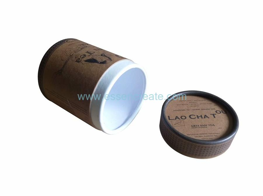 Degradable Paper Packaging Tube Box
