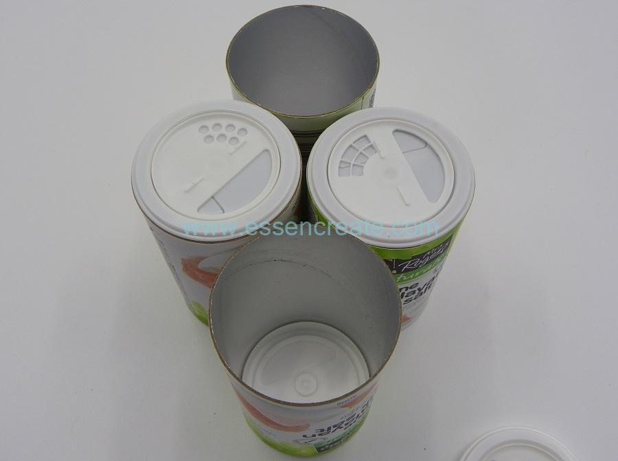 Food Grade Spice Shaker Paper Cans