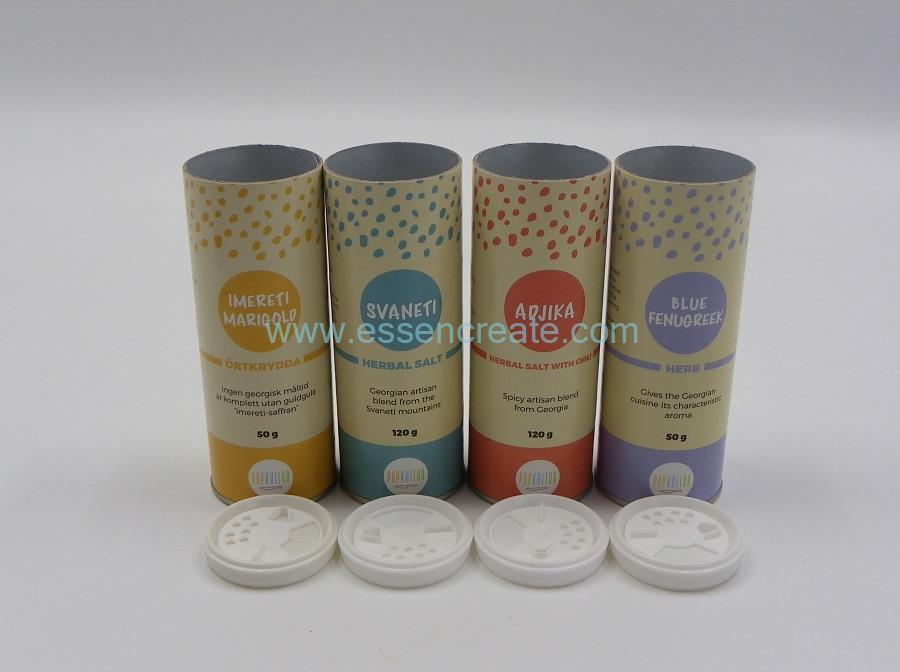 Nontoxic Paper Cylinder Packaging Tube with Shaker Vibrator