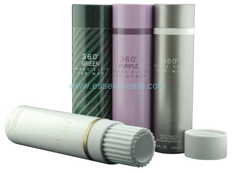 Perfume And Cosmetics Rolled Edge Packaging Paper Tube