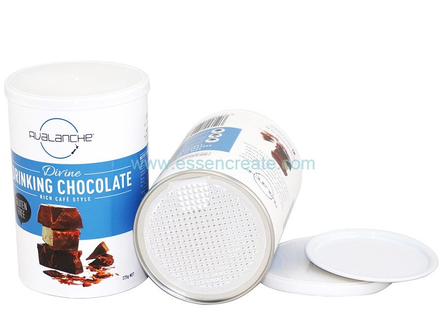 Drinking Cans Chocolate Packaging Food Grade Paper Tube