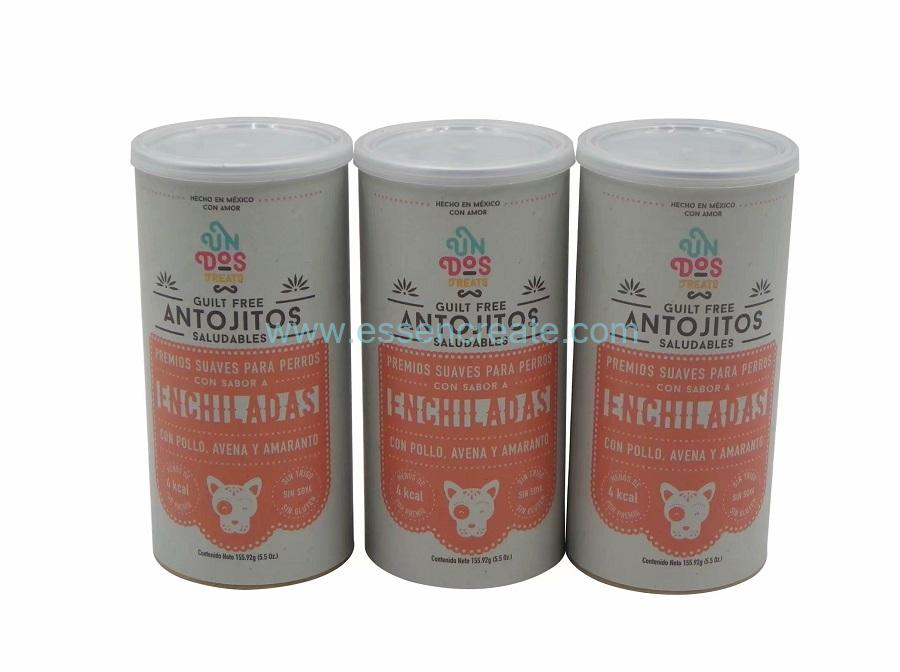 Dog Food Antojitos Packaging Easy Open Paper Cans