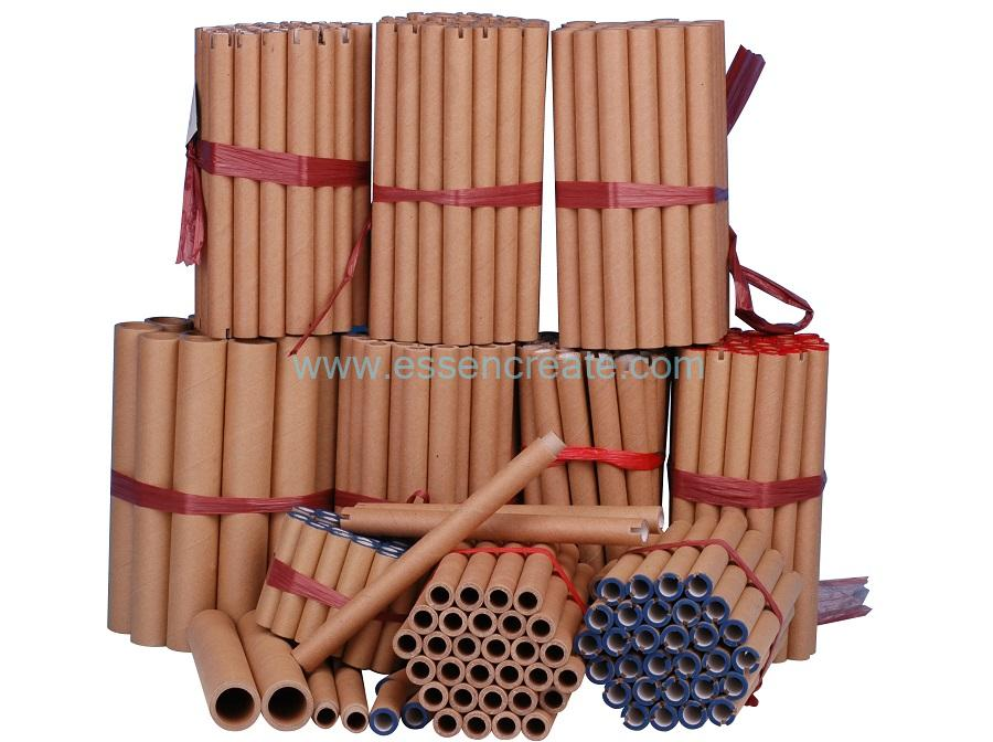 Industrial Cardboard Spiral Textile Kraft Paper Core Tube