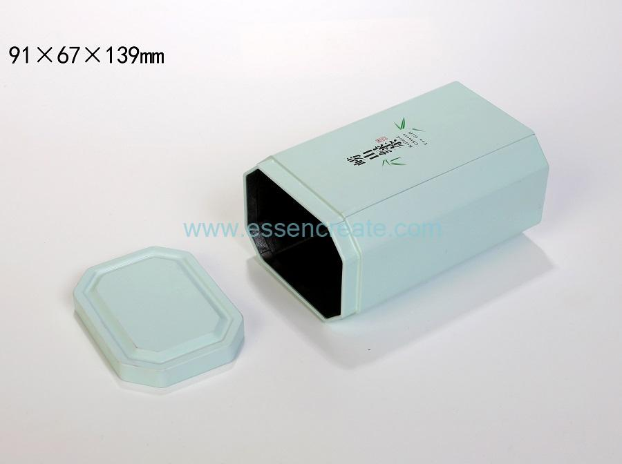 Square Metal Tea Box