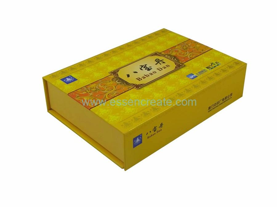 Medicine Packaging Magnet Gift Box with Paper Card Divider