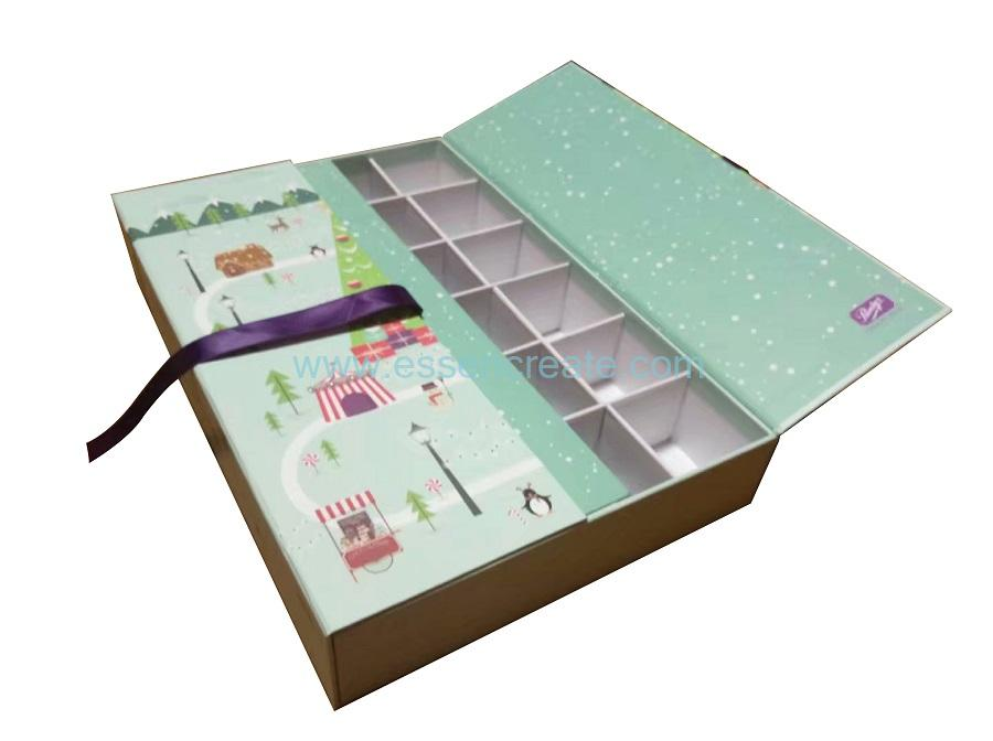 Chocolate Pralines Packaging Cardboard Gift Box