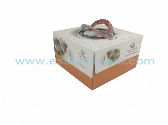 Birthday Cake Foldable Box