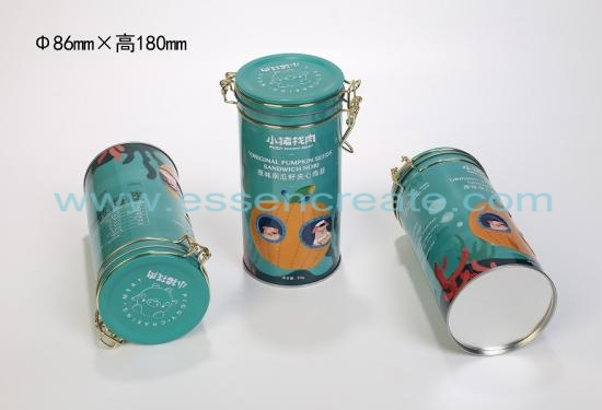 Lockable Metal Can with Seal Ring