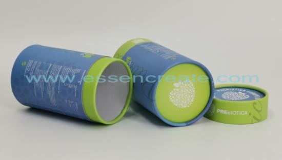 Curled Edge Honey Packaging Paper Tube