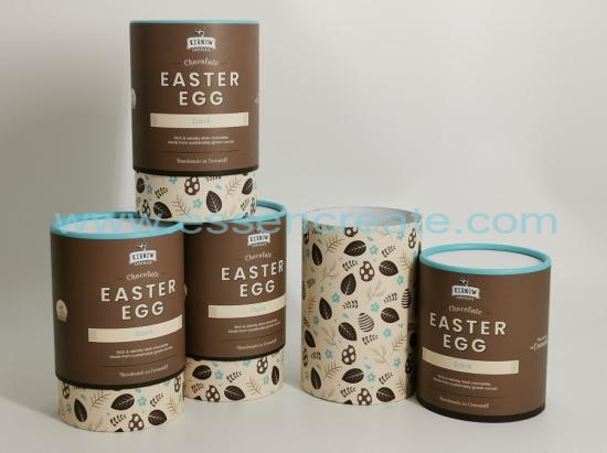 Round Easter Egg Chocolate Gift Box