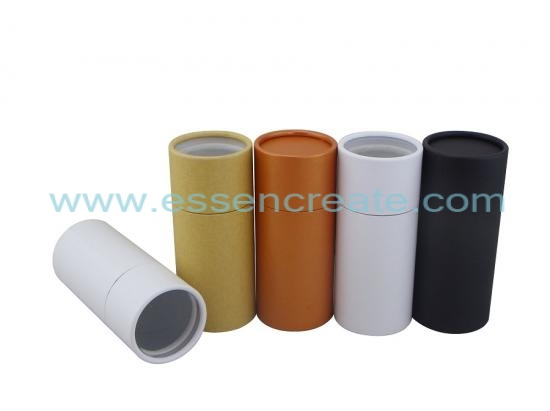 Brown Kraft Paper Tube with window
