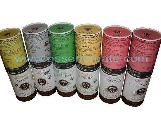 Premium Tea Packaging Paper Tube