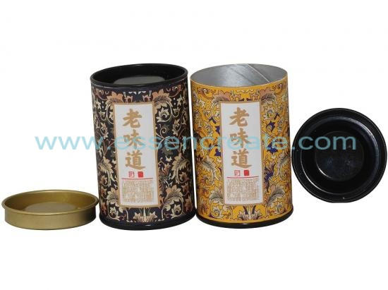 Paper Tea Tube Packaging