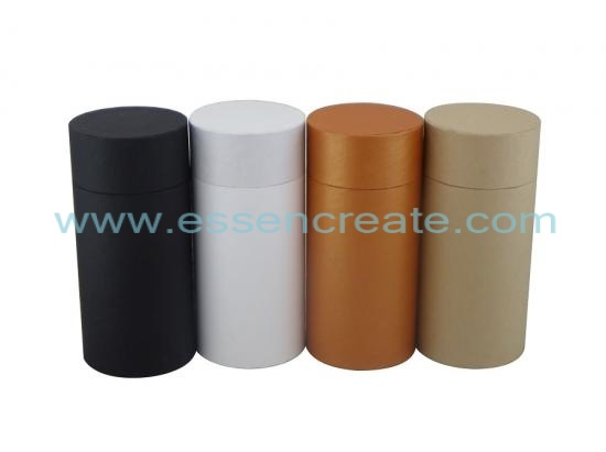 Paper Tube with Flat Edge Lid