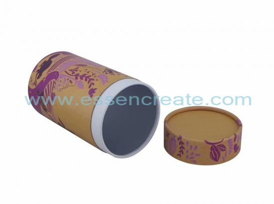 Round Cardboard Tube Packaging Box