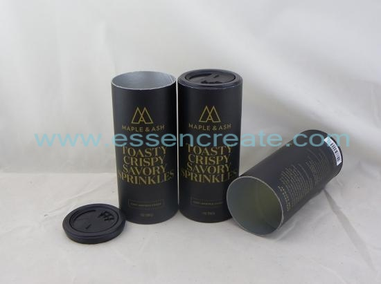 Spice Food Powder Shaker Paper Tube