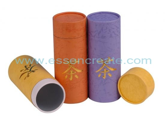 Chinese Tea Paper Tube