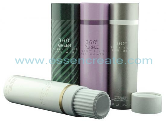 Perfume And Cosmetics Packaging Paper Tube