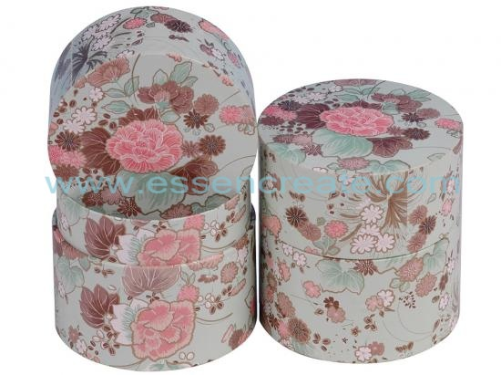 Cylinder Gift Paper Canister