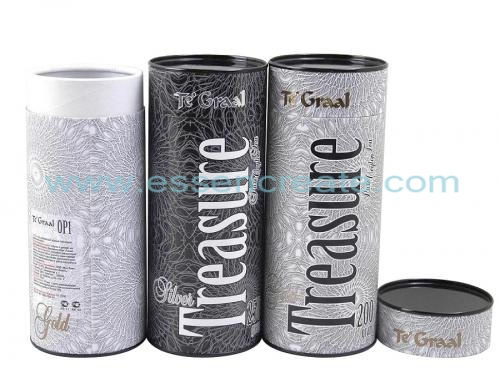 Tea Powder Ball Packaging Paper Tube