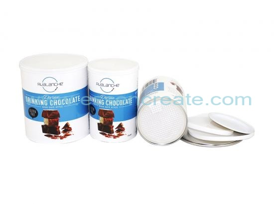 Food Grade Paper Tube Chocolate Canister